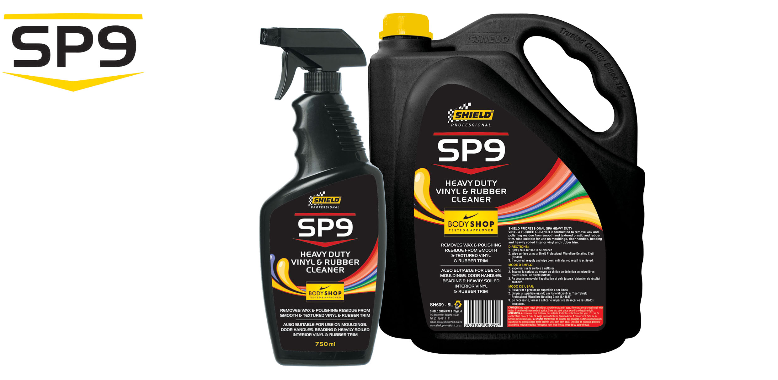 SP9 – HEAVY DUTY VINYL & RUBBER CLEANER