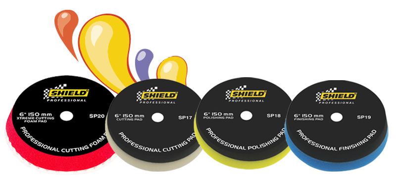 Shield Professional Foam Pads